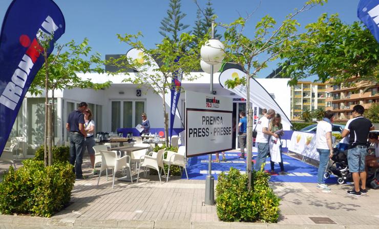 Pressebereich in Alcudia-Garden-Hotel.
